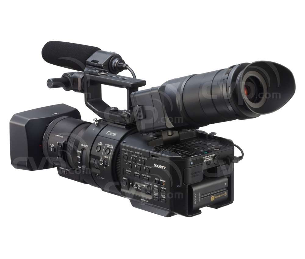 Sony NEX-FS700RH (NEXFS700RH) 4K Super 35mm Exmor CMOS sensor NXCAM camcorder with 11x Zoom E-Mount lens and 4K/2K RAW recording options