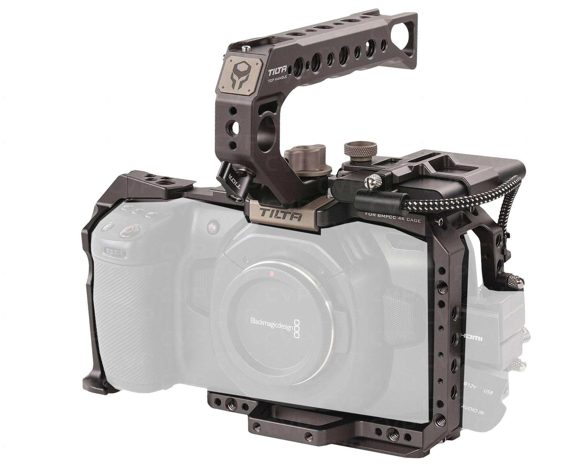 Buy Tilta Ta T01 B G Tat01bg Tilta Grey Assault Armor Camera Cage For Blackmagic Pocket Cinema Camera 4k Basic Module