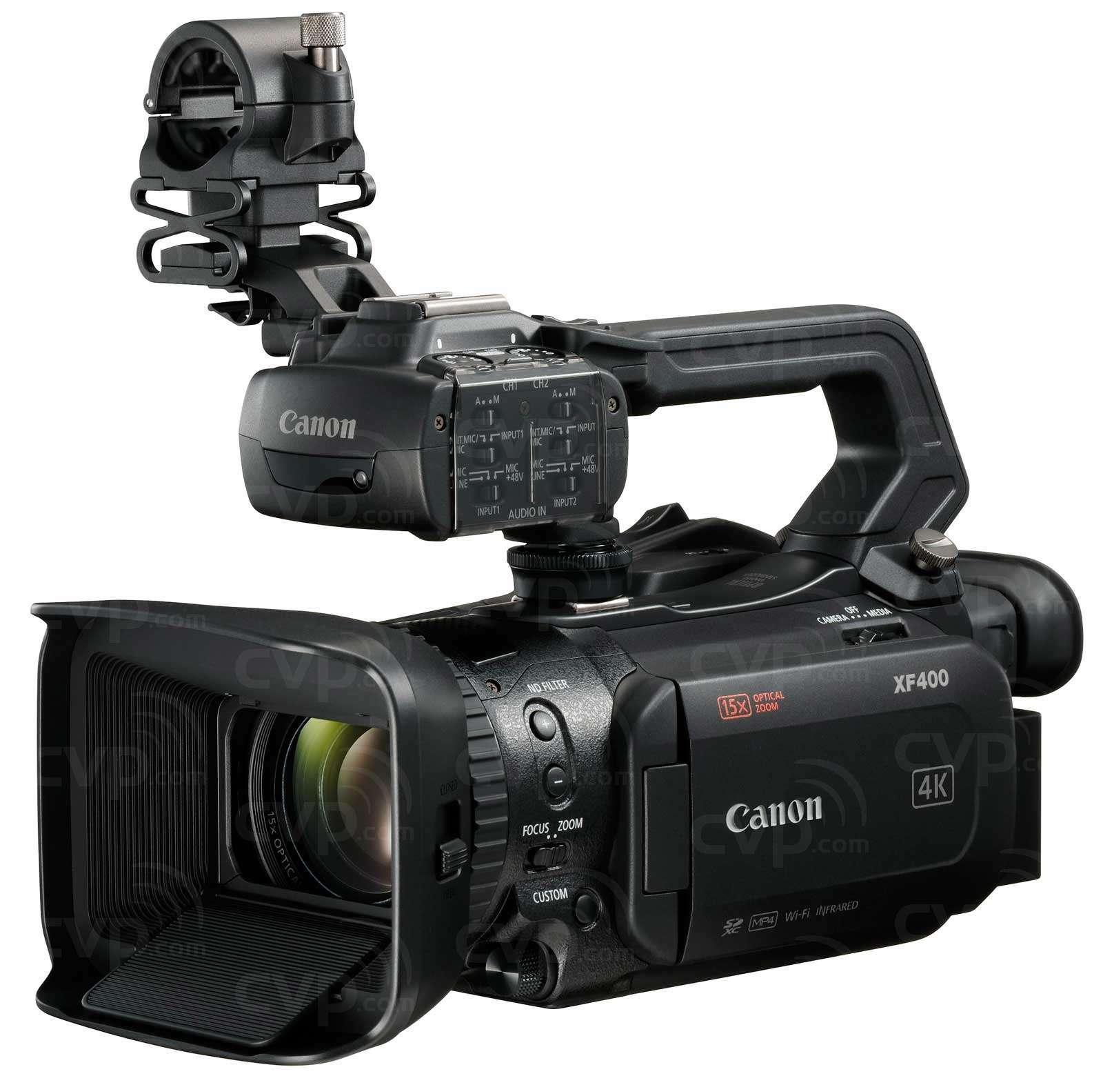 4k Video Camera >> Buy Canon Xf400 1 0 Type Cmos Compact 4k Uhd Camcorder With Dual