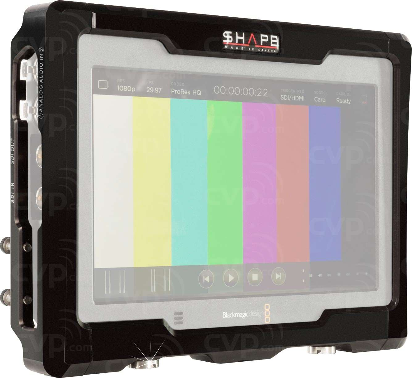 blackmagic video assist  Buy - Shape VA4KCAGE (VA4K-CAGE) Blackmagic Video Assist 4K Cage