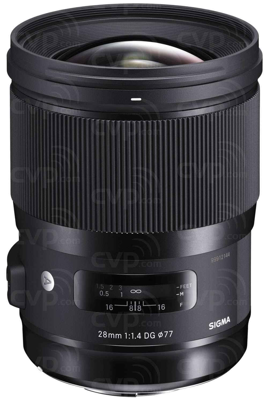 Sigma 28mm F1 4 - Canon EF