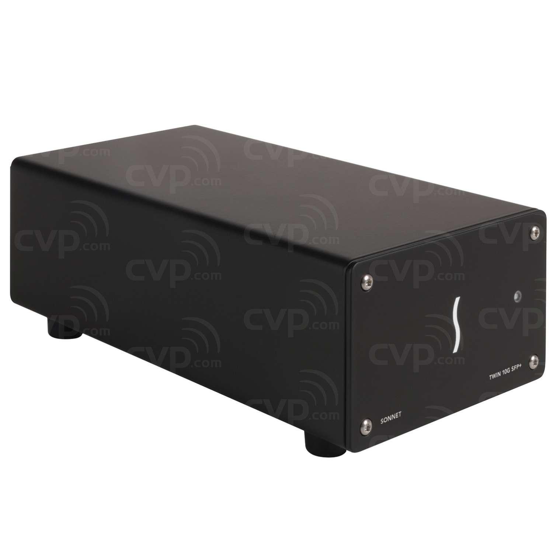 c4b75061dc2 Buy - Sonnet SON-TWIN10GCSFP-TB3 (SONTWIN10GCSFPTB3) 10GbE Dual-Port SFP+  10 Gigabit Ethernet Thunderbolt 3 Adapter