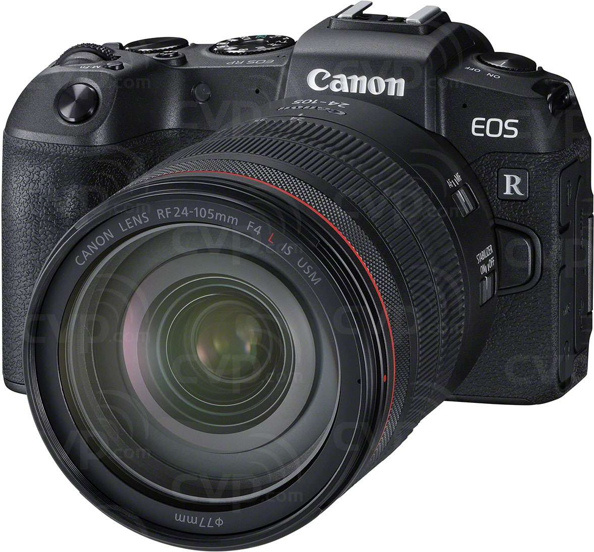 Canon EOS RP + Adapter + 24-105mm Lens