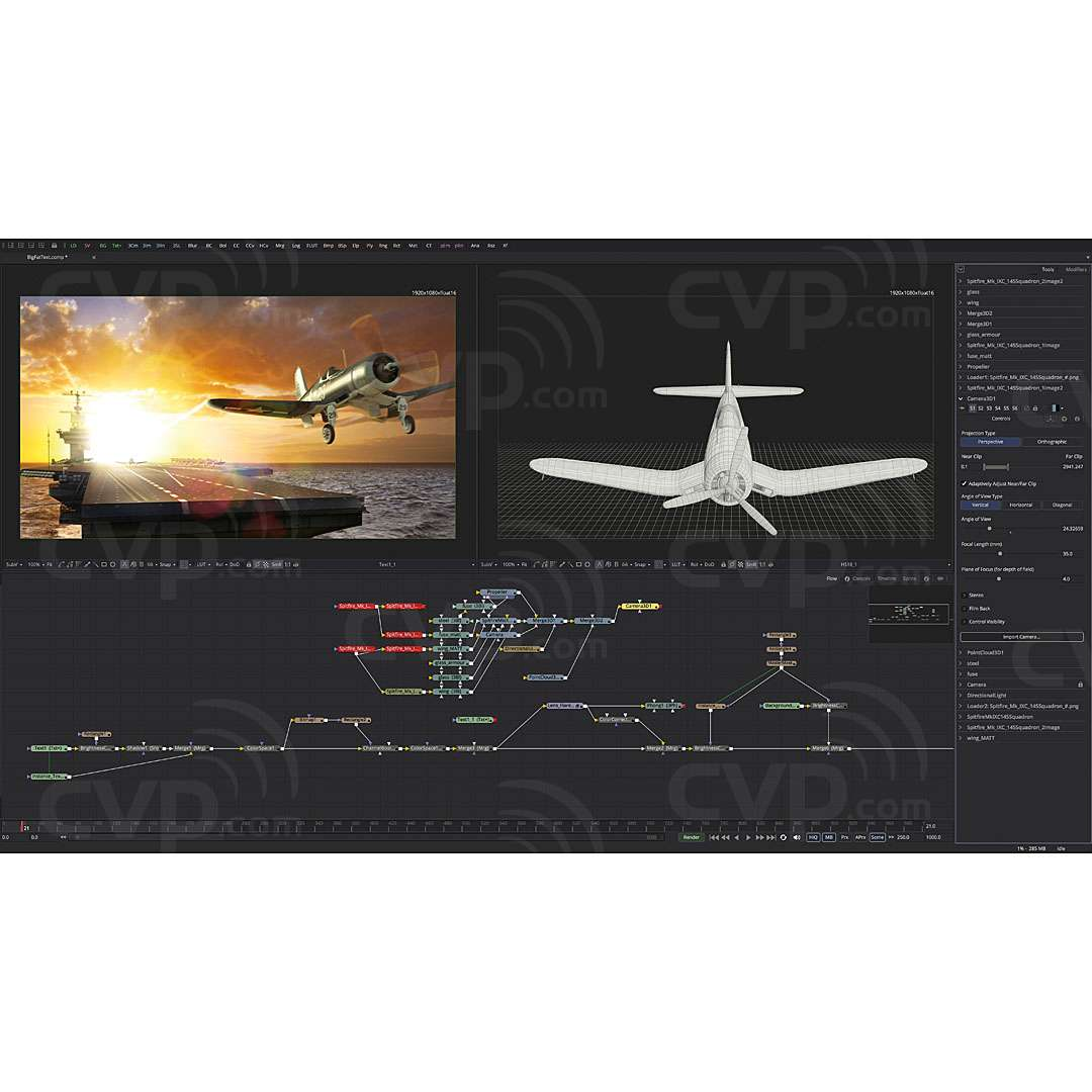 Buy Blackmagic Fusion 16 Studio Software Advanced Visual Effects And Motion Graphics Solution Bmd Dv Stufus