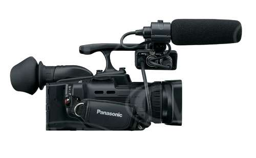 Panasonic AG-HMC41E (AGHMC41E) SD card solid state compact camcorder with AVCHD recording up to 13Mb/s