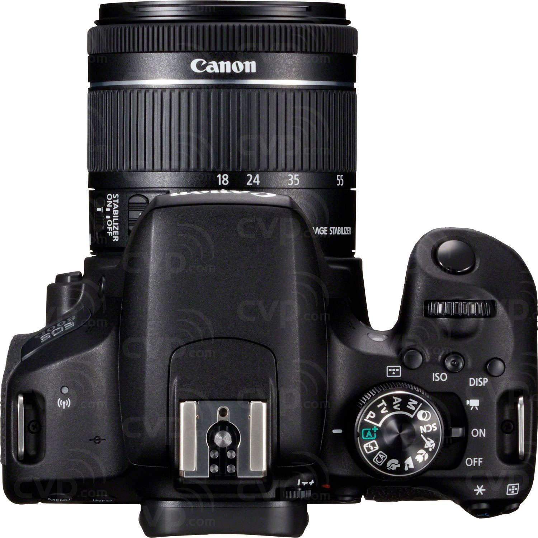 Canon 800D + EF-S 18-55mm Lens
