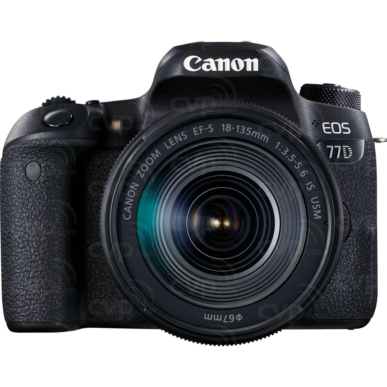 Canon EOS 77D + 18-135mm Lens
