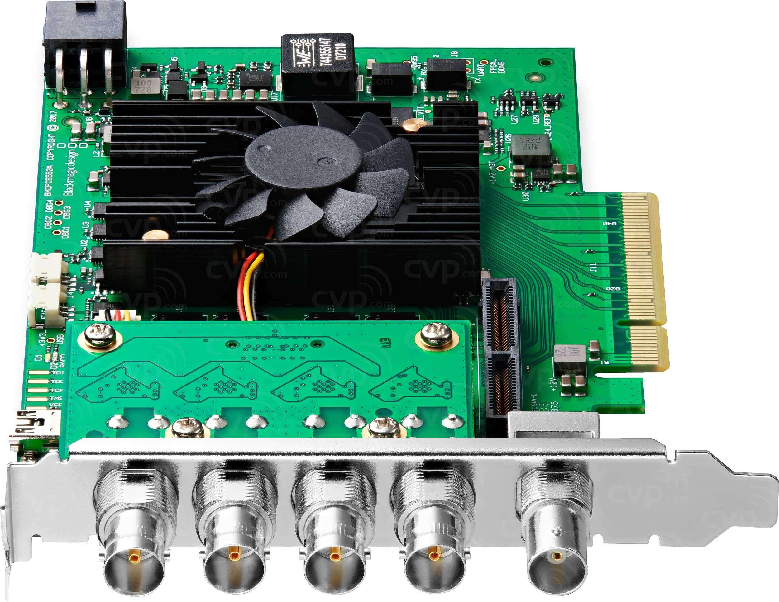 Buy Blackmagic Design Decklink 8k Pro Digital Cinema Capture Card With Quad Link 12g Sdi P N Bmd Bdlkhcpro8k12g