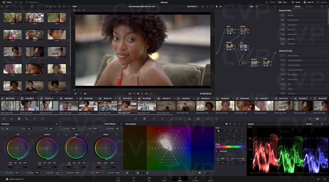 Buy Blackmagic Design Davinci Resolve Editing And Colour Correction Software With Dongle P N Bmd Dv Resstuddongle