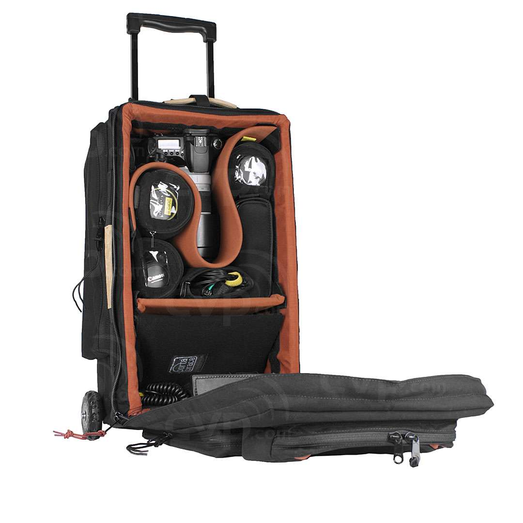79688d625b Buy - Portabrace WPC-1DSLRB (WPC1DSLRB) Wheeled DSLR Case with Off-Road  Wheels and a Rigid Frame In Black (Internal Dimensions  52.07 x 26.67 x  17.78 cm)
