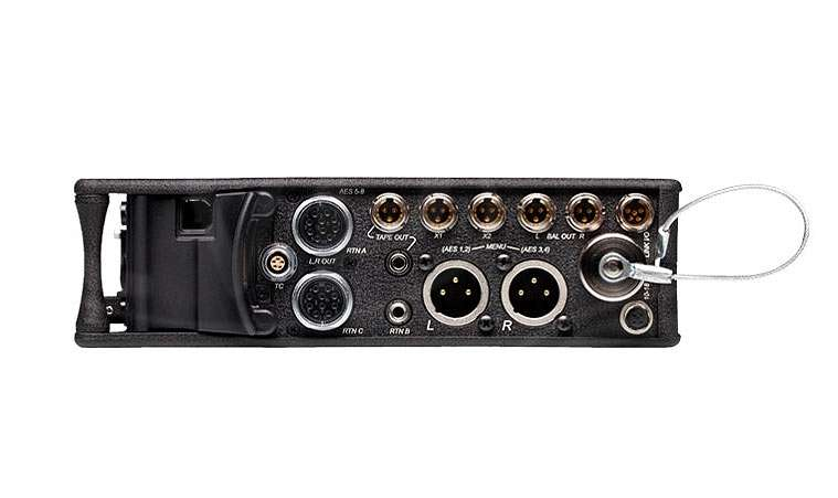 Sound Devices 664 Six Channel Portable Production Mixer with Integrated Recorder