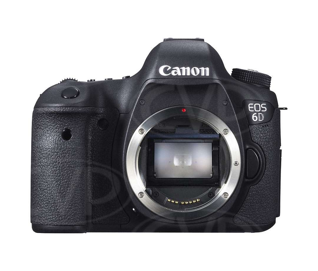 Canon EOS 6D 20.2 Megapixel digital SLR camera with CMOS sensor (body only)