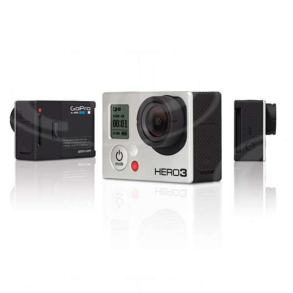 GoPro HERO3 Black Edition 12MP Camera includes Wi-Fi Remote and Mounting Accessories