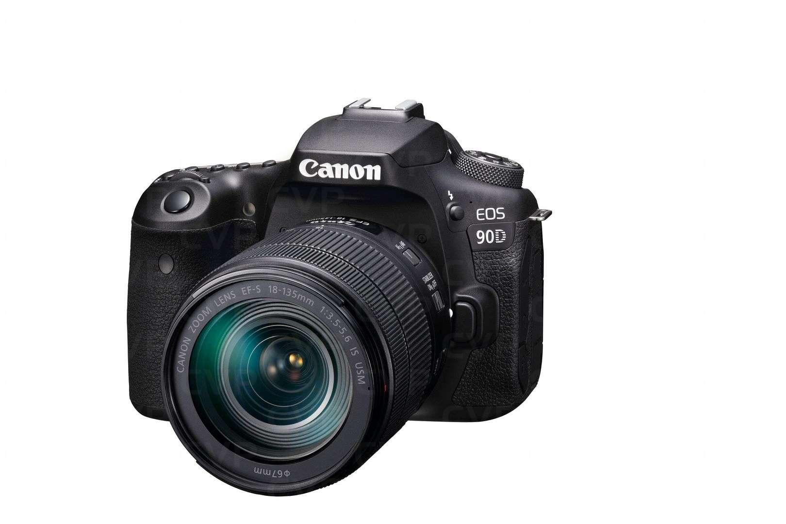 Canon EOS 90D + 18-135mm Lens
