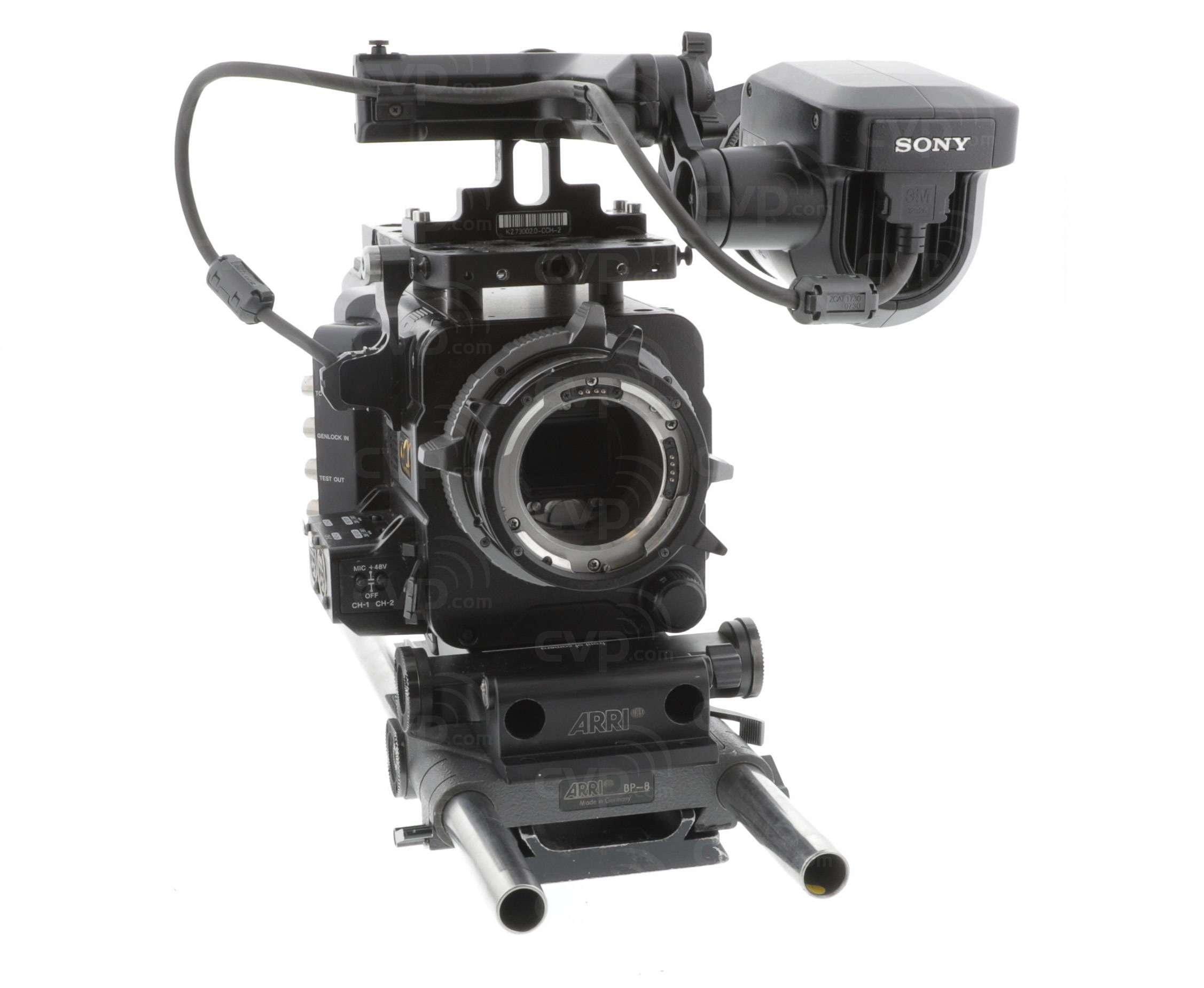 Buy Used Sony Pmw F55 Pmwf55 Super 35mm Full Hd 4k Cmos Sensor Flashdisk 64gb Fd Compact Cinealta Camcorder Records 2k On Sxs Memory Plus 16 Bit Raw Output