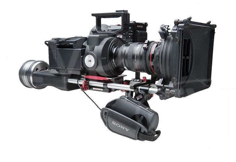 Zacuto FS700 Shooter- compact, stable rig for FS700 users - Z-FS700 (ZFS700)