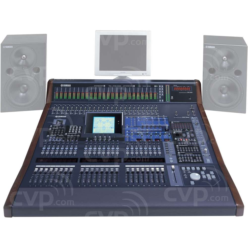 buy yamaha dm2000 vcm dm2000vcm 96 channel digital production mixing console. Black Bedroom Furniture Sets. Home Design Ideas