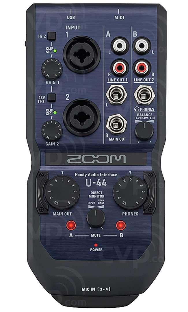 Zoom U-44 Audio Recorder
