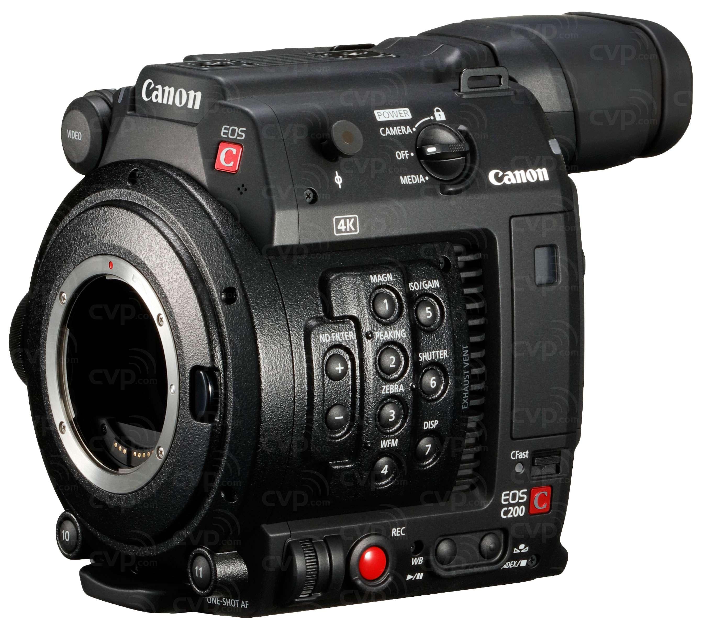 buy canon c200 ef cinema eos camera super 35mm 4k digital