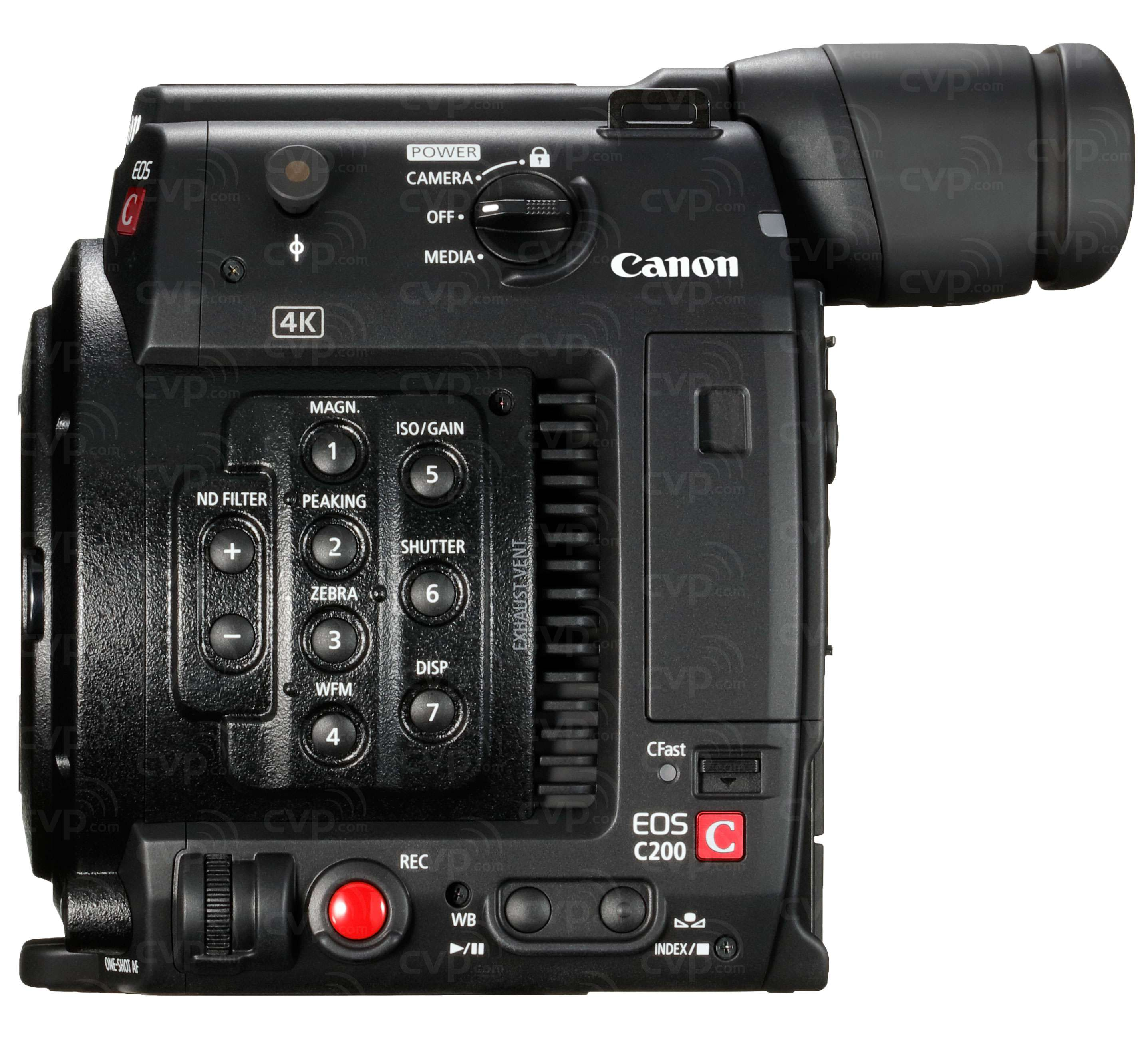 Canon C200 EF + Free 128GB CFast Card & Reader