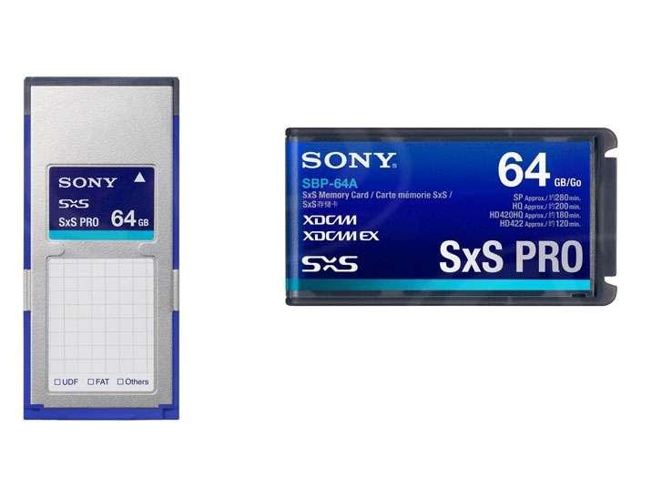 Sony SBP-64A 64GB SxS Card