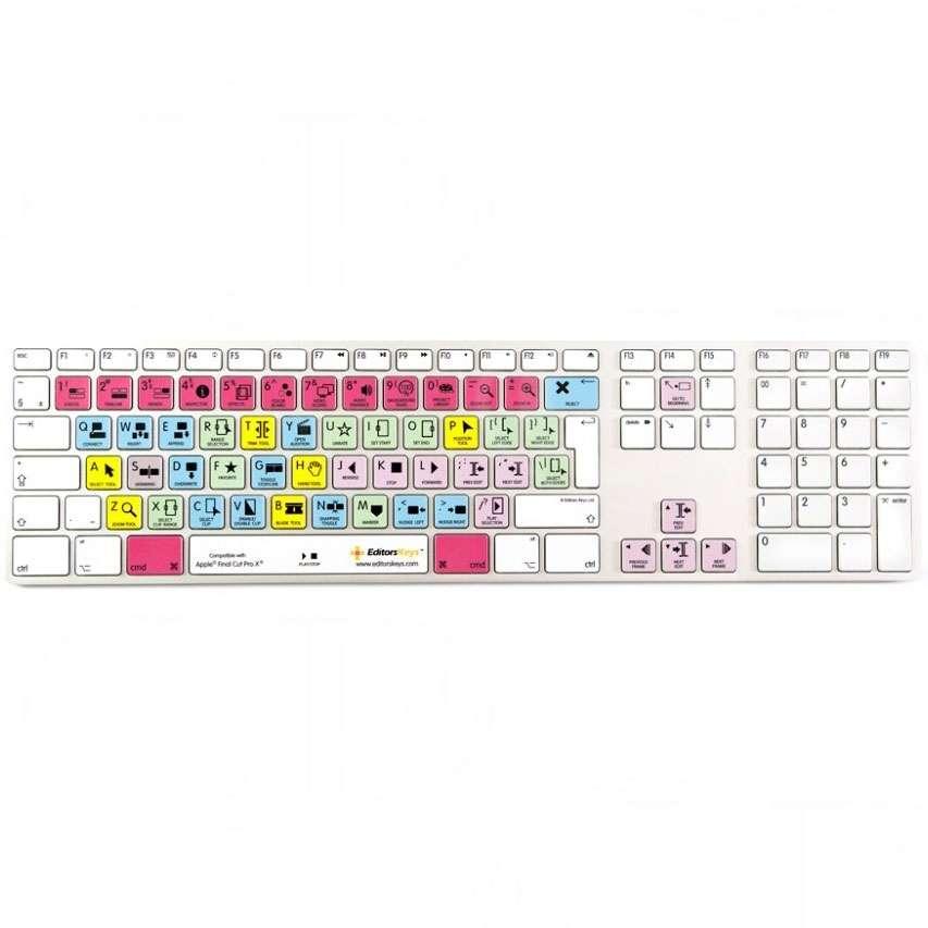 Buy - Editors Keys Apple Final Cut Pro X Keyboard (p/n CTF03249)