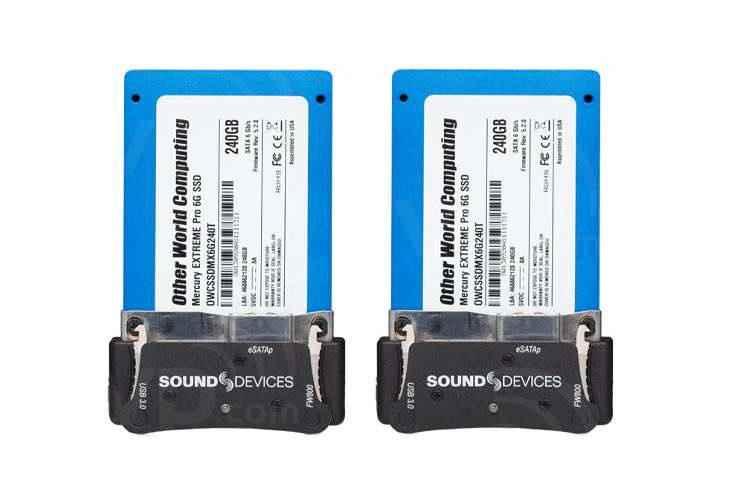 Sound Devices SSD Caddy Pack