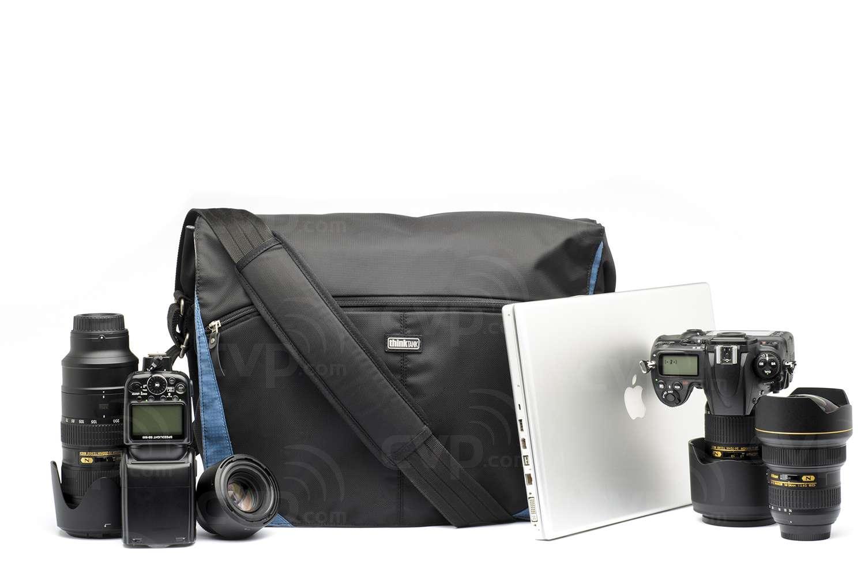 df7107f6c7 At a glance ThinkTank. Think Tank Photo (T690) CityWalker 30 - Blue Slate -  LARGE Soft-sided shoulder bag ...