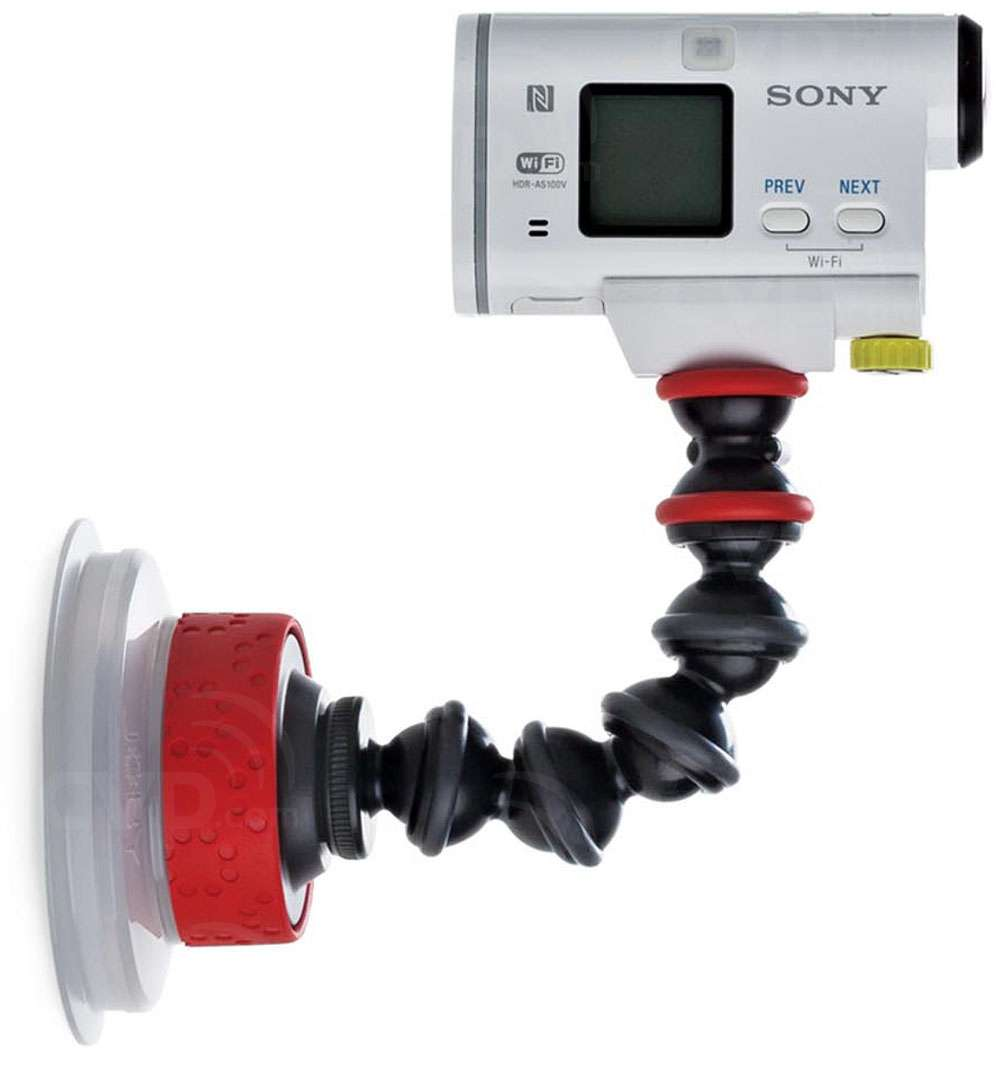 Buy Joby Jb01329 Bww Suction Cup Gorillapod Arm Black Red Gopro Mount And Quick Release Aucmt 302 At A Glance