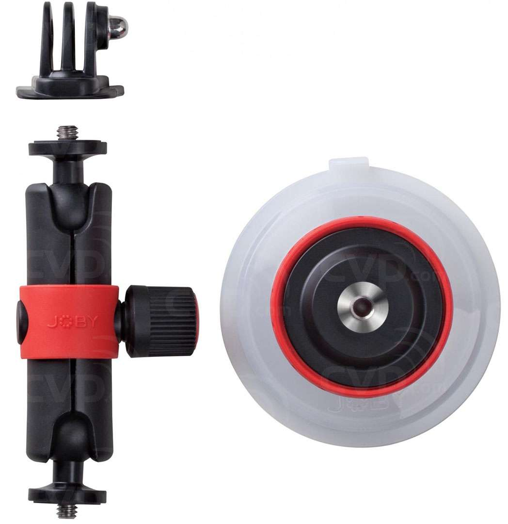 Buy Joby Jb01330 Bww Suction Cup Locking Arm Black Red Gopro Mount And Quick Release Aucmt 302