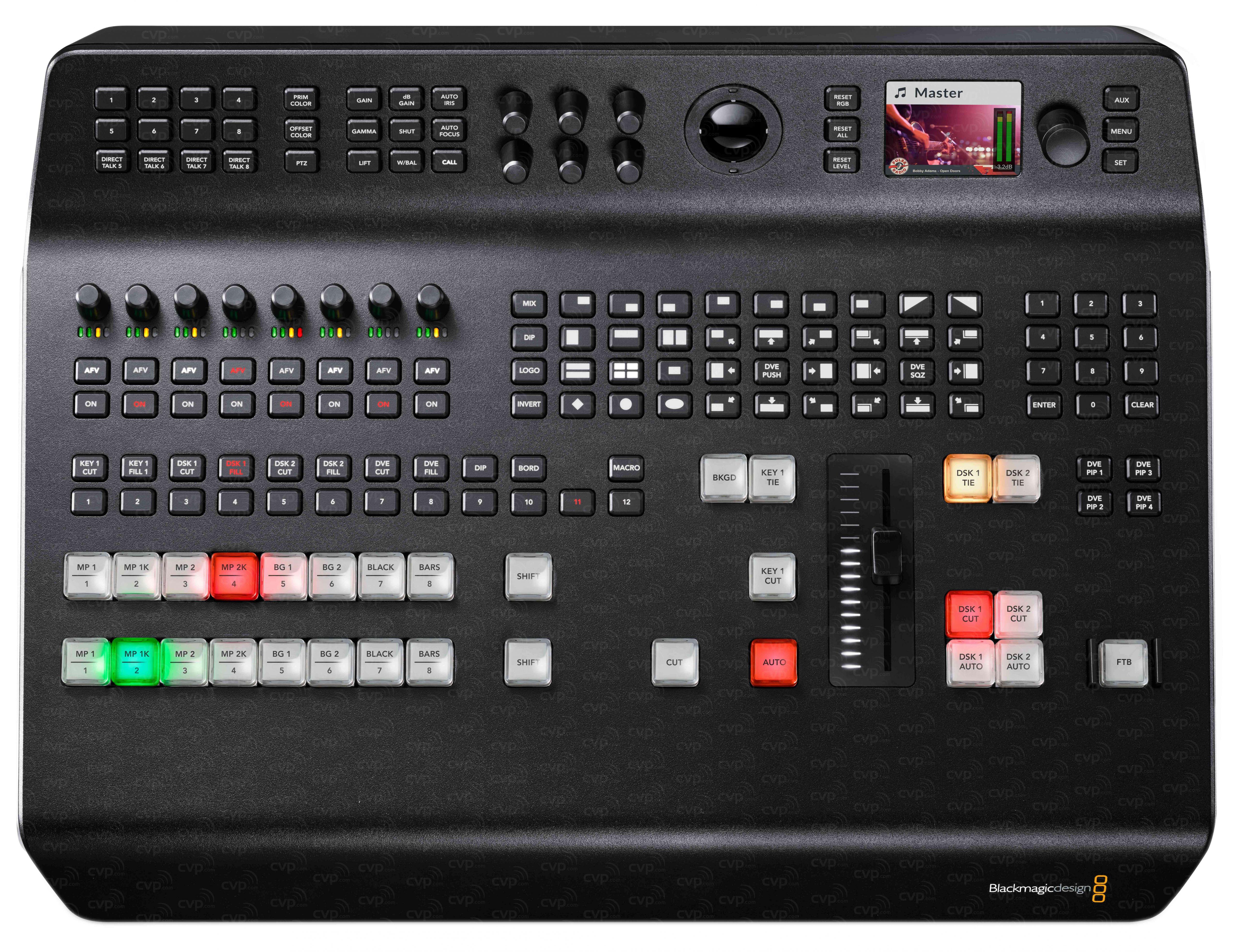 Buy Blackmagic Design Bmd Swatemtvstu Prohd Bmdswatemtvstuprohd Atem Television Studio Pro Hd Live Production Switcher