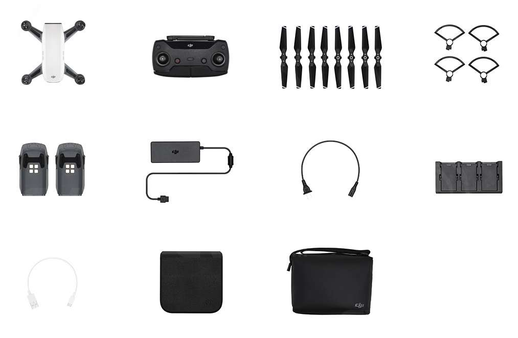 DJI SPARK Quadcopter Fly More Combo