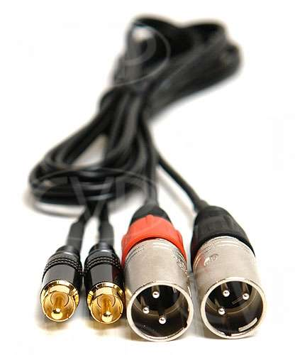 Excellent Buy High Quality Cable 2 Meter Xlr3M Pair To Rca Phono Pair Wiring Cloud Toolfoxcilixyz
