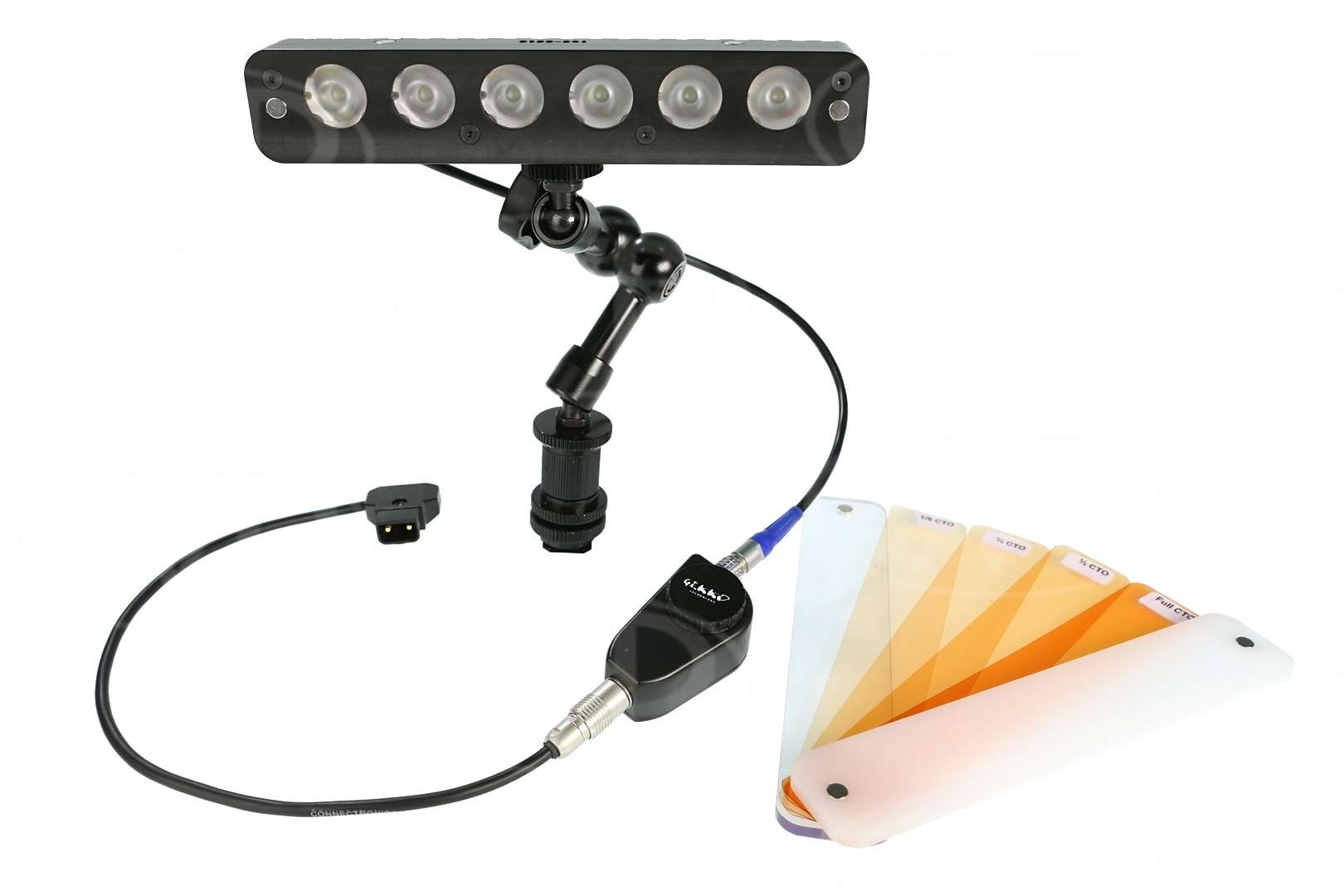 Gekko kicklite 106 D daylight LED on-camera kit