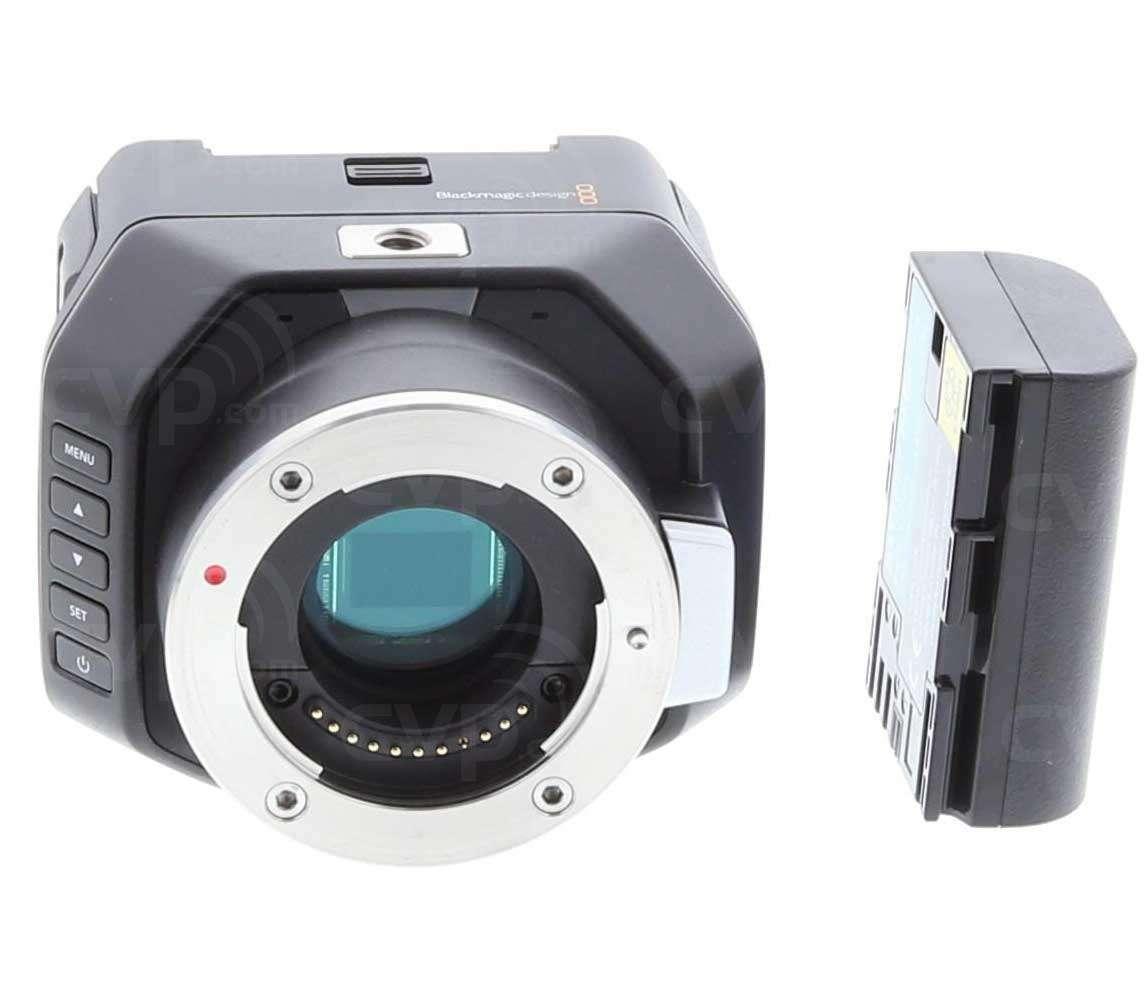 Buy Open Box Blackmagic Micro Studio Camera 4k With An Active Mft Lens Mount Body Only P N Bmd Cinstudmft Uhd Mr