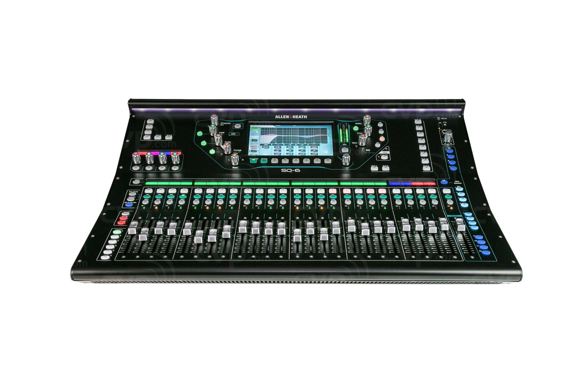 buy allen and heath sq 6 sq6 48 channel 36 bus digital mixer 96khz sq series for live. Black Bedroom Furniture Sets. Home Design Ideas