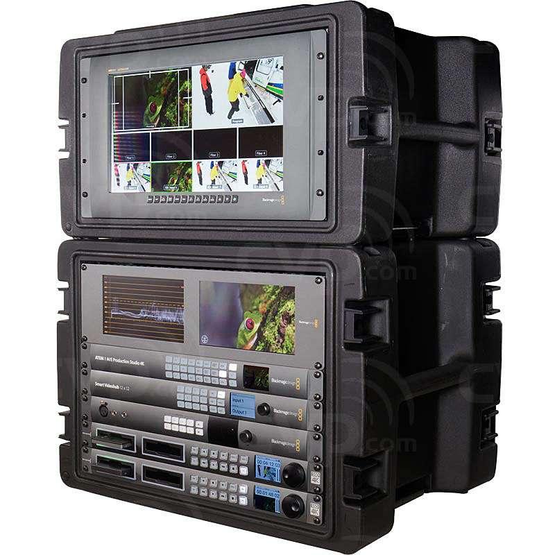 Buy Blackmagic Design Complete 3 Camera 4k Mobile Production Unit Bmd 4kppu