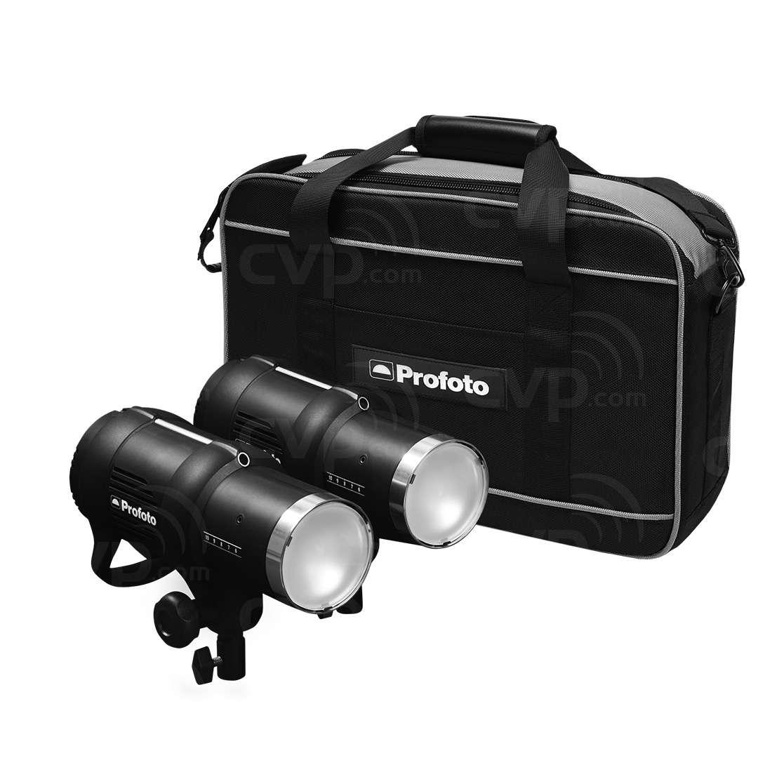 Profoto Studio Lighting Kit: Profoto (901015) D1 Basic Kit 500/500 Air Incl. 2 X