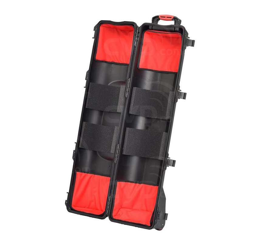 buy hprc hprc6400w triblk hard tripod case with soft deck padded 6400wtri internal. Black Bedroom Furniture Sets. Home Design Ideas