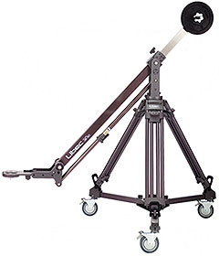 Libec JB-30 Jib arm kit complete with T102 tripod and DL8 dolly