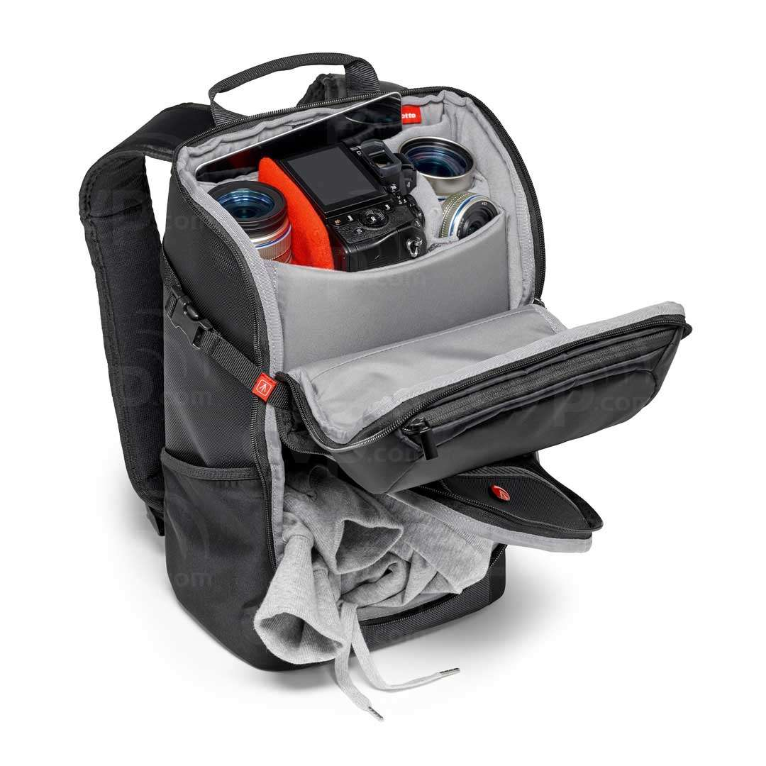 12e06f475d Manfrotto Advanced Travel Backpack Grey