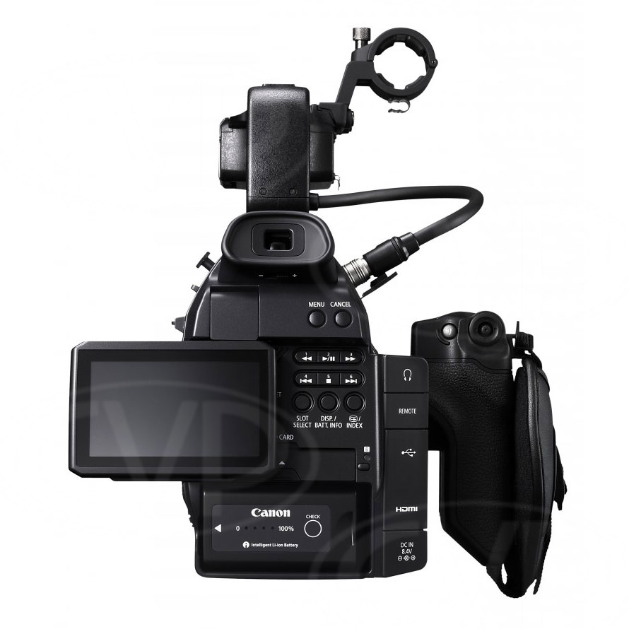 Canon EOS C100 EF rear view
