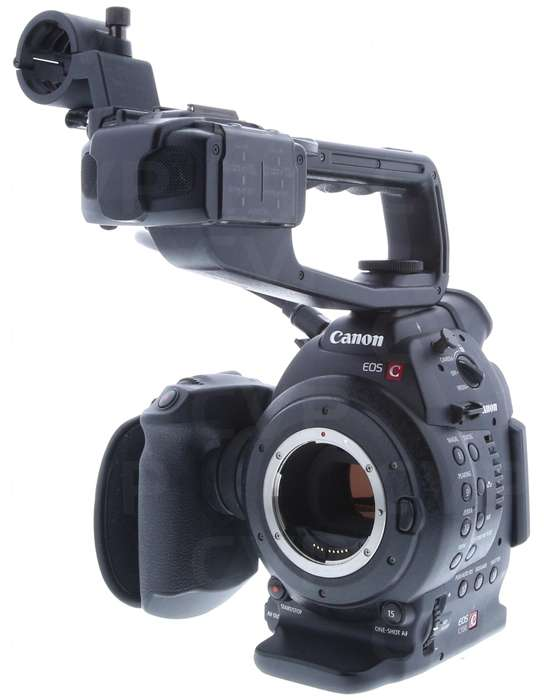 Buy - Used Canon EOS C100 EF (Cinema, EOS, C-100) Super 35mm