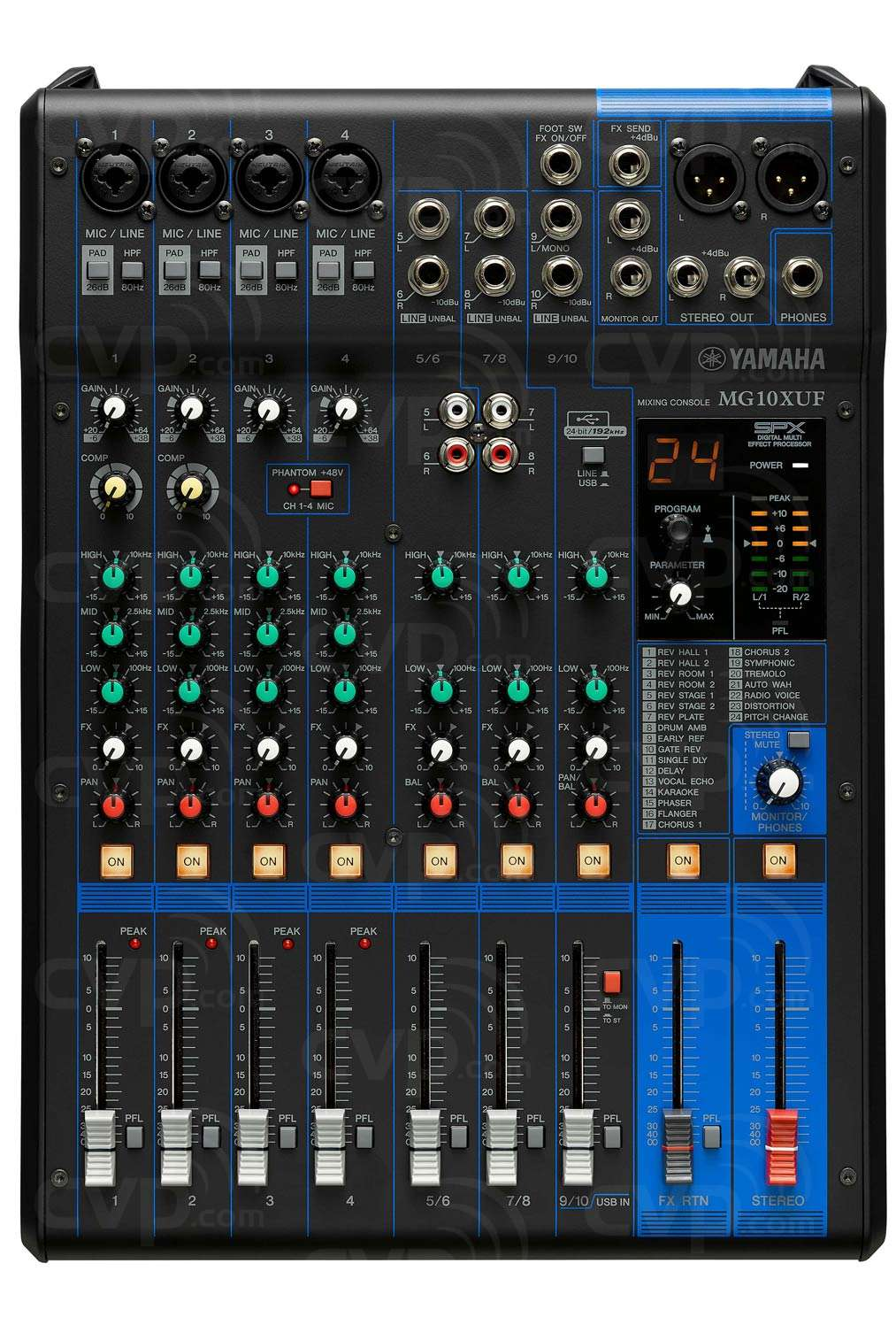 Buy Yamaha Mg10xuf 10 Channel Mixing Console With Max 4 Mic Electronics At Glance Lets Innovate Page 2 A