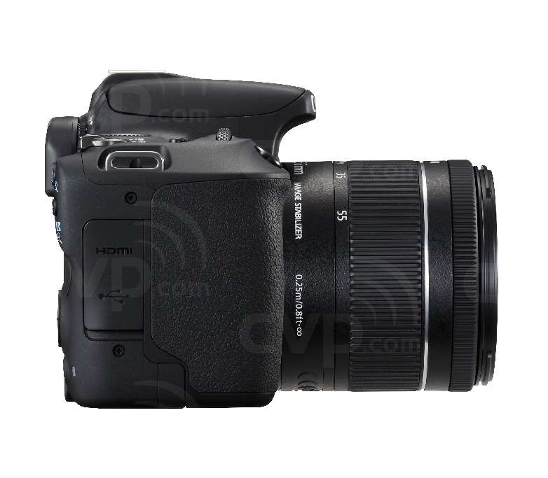 Canon EOS 200D with 18-55mm Lens - Black