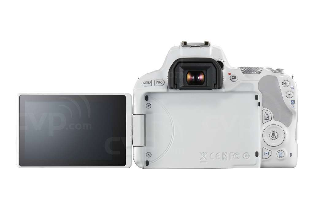 Canon EOS 200D with 18-55mm Lens - White