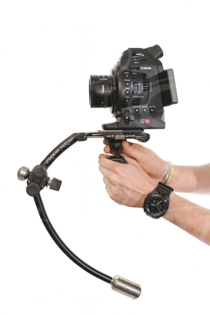 Steadicam MERLIN2-AV (MERLIN2AV) Merlin 2 Professional Handheld Camera Stabilisation System- includes Merlin 2 complete with Arm + Vest