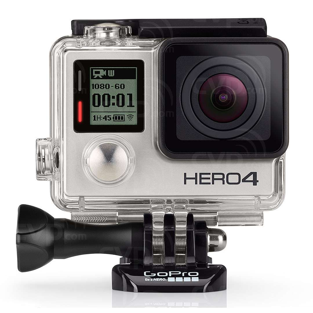 Buy Gopro Hero4 Silver With 1080p Video 12mp Photos Up To 30fps Suction Cup Mount And Quick Release Aucmt 302 Built In Wi Fi Bluetooth Touch Display Gp1045