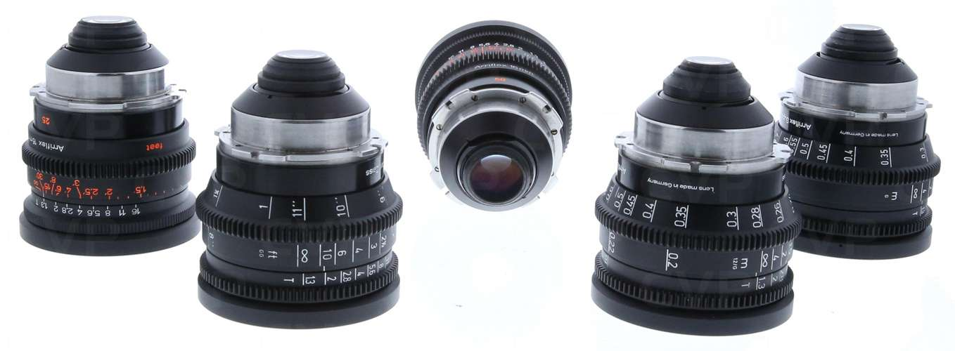 Used Zeiss Super Speed S16 Cine Lenses Kit