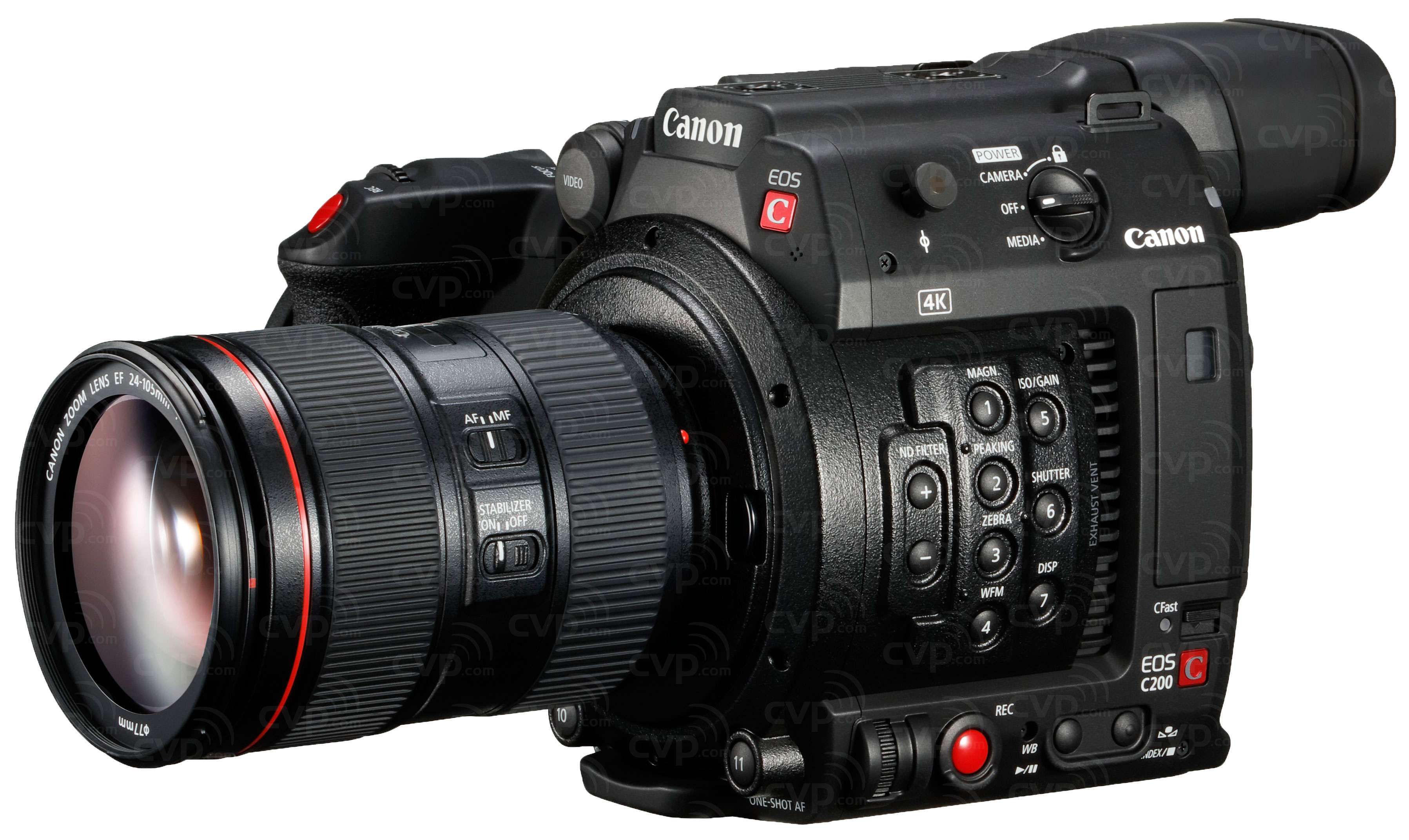 Canon C200 and 24-105mm f/4 Lens